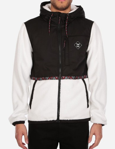 iriedaily - On Top Hood Jacket black