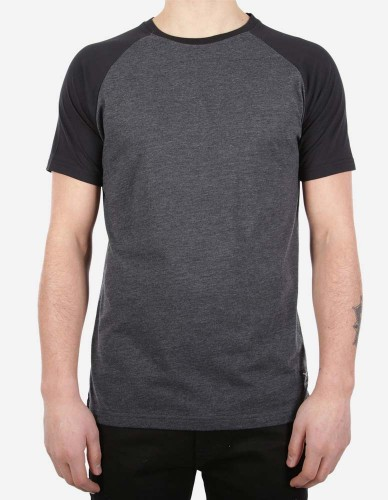 iriedaily - Rugged Tee black anthra