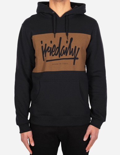 iriedaily - Tagg Hooded cara black