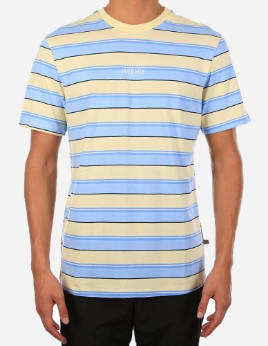 iriedaily - Tony Stripe Tee lemonade