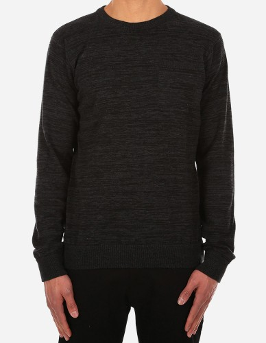 iriedaily - Vari Pocket Knit black mel.
