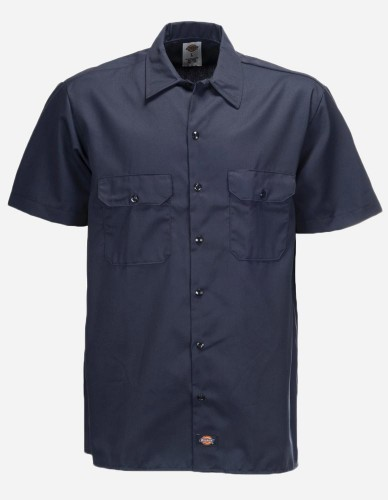 Dickies - Work Shirt navy blue
