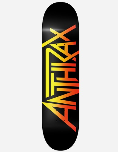 Skate & Music - Anthrax Logo Skateboard multi