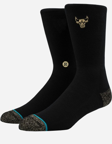 Stance - Bulls Trophy Socks black