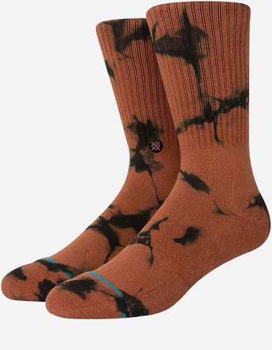 Stance - Dyed Crew Sock brown