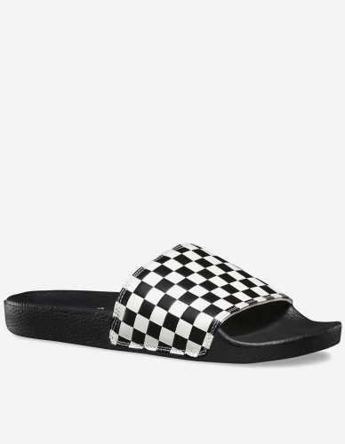 Vans - Slide-On Checkerboard white