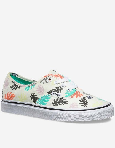 Vans - W' Authentic Schuh Washed Kelp multi white
