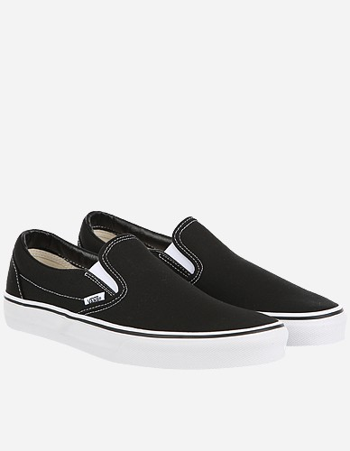 Vans - Classic Slip-On black white
