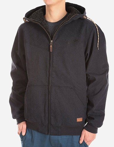 iriedaily - Dock36 Swing Jacket black